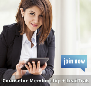 Counselor Membership + LeadTrak2 join now
