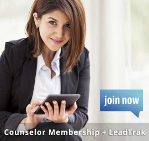 Counselor Membership + LeadTrak2 join now