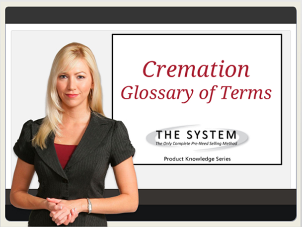 cremation of glosary terms