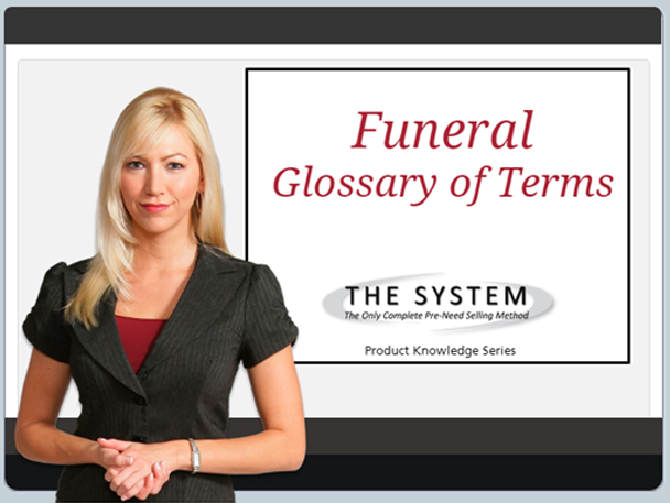funeral glosary of terms