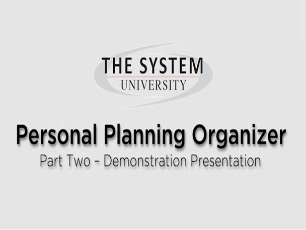 personal planning 2