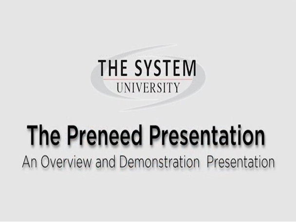 preneed presentation